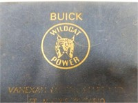 BUICK WILDCAT POWER ADVERTISING PLAYING CARDS /BOX