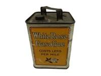 EN-AR-CO WHITE ROSE GASOLINE SLATE BOY COIN BANK