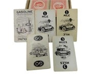 FAMOUS TOURING AUTOMOBILE CARD GAME/BOX