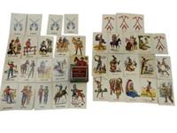 1949 COWBOYS & INDIANS CARD GAME/ BOX