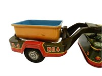 JEEP & DUMP TRAILER FRICTION TOY NO. 4