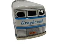 "1950'S GREYHOUND TIN FRICTION ""SCENIC CRUISER""BUS"