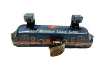 UNION MOUNTAIN CABLE LINES BATTERY OP. TOY / BOX