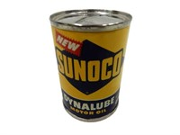 NEW SUNOCO DYNALUBE MOTOR OIL PENNY BANK