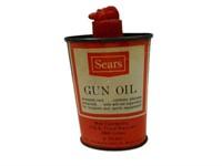 SEARS GUN OIL 3 U.S. OUNCES OILER