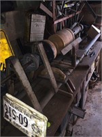 Electric wooden lathe