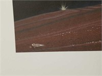"""Signed Rance Hood """"When Arrows Fly"""" Print 329/350"""