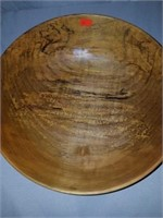 Handmade Solid Spalted Maple Wooden Bowl