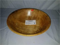 Beautiful Handmade Spalted Maple Wooden Bowl