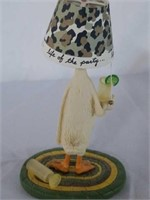 """Will Bullas """"Life of the Party"""" Duck Figurine"""