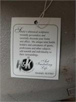 H & K Picture Framer Steel Sculpture