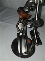 H & K Dentist Extraction Steel Sculpture