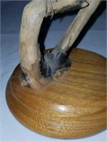 RARE Ahrednt Wood Carved Birds Sculpture