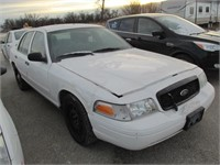 2011 FORD CROWN VICTORIA (POLICE)