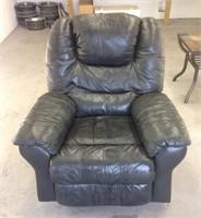 Older leather recliner