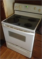 Whirlpool flat top electric stove
