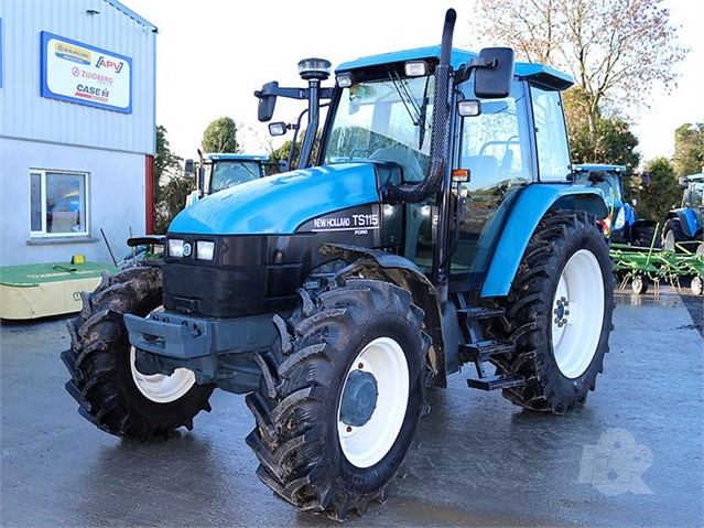 Used 2000 NEW HOLLAND TS115 For Sale in Rhode, Ireland (ID: 30999081