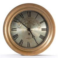 Allis-Chalmers advertising clock