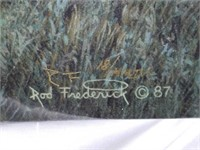 Signed & Numbered Rod Frederick Print on Canvas