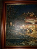 Signed & Numbered Terry Redlin Barn Dance Print