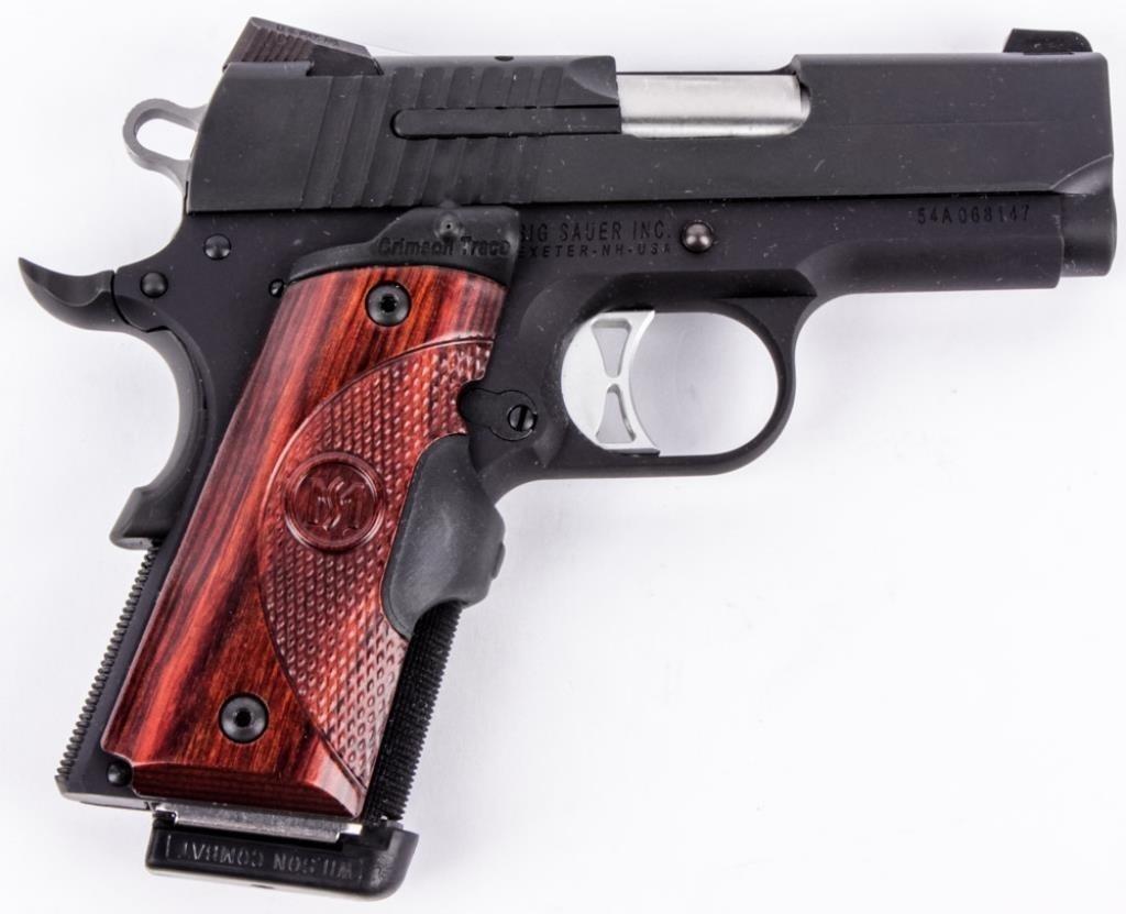 Gun Sig Sauer 1911 Semi Auto Pistol in 45 ACP | AZFirearms com/Pot