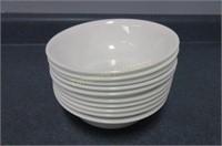 Approximately 20 Corelle soup bowls