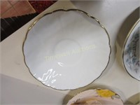 Grouping of cups and saucers