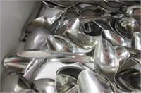 Large drawer full of small spoons