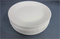 Approximately 20 Corelle plates