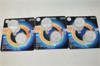(3) Packs 40W Decorator LED Bulbs