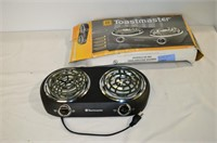 Toastmaster Double Burner Hot Plate