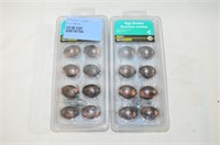 (2) x 10 Pack Oil Rubbed Bronze Egg Knobs
