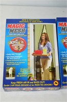 (2) Magic Mesh Screens