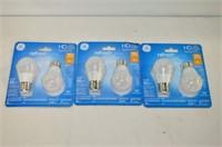 (3) Packs 40W LED Bulbs
