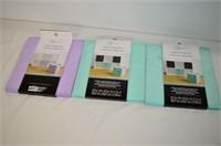 (3) Fabric Cube Storage Bins
