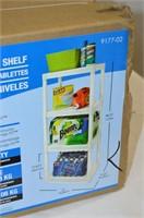 Plano 4 Tier Plastic Shelf