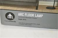 Hometrends Arc Floor Lamp