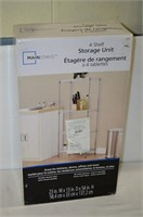 Mainstays 4 Shelf Storage Unit