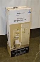 Mainstays Bathroom Organizer Set