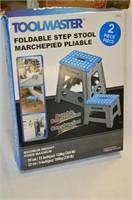 Toolmaster Folding Step Stool