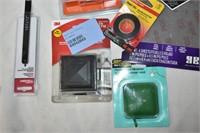 Screwdriving Set, Tape, Hacksaw Blades etc.