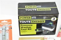 Pressure Washer Tool Kit, etc.