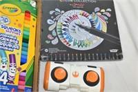 Tray of Children's Art Supplies