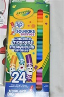 Markers, Minnie Mouse Wall Decals, etc.