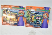 (2) Packages of Pokemon Game Cards
