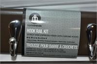 (2) Wall Hook Racks