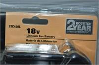 Bostitch Lithium Ion 18V Battery