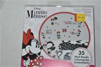 Minnie Mouse Wall Decals, Skinnies Markers, etc.