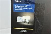 Philips Hue White Bulb Starter Kit (opened)