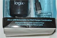 Logix iPad Retractable Car/Wall Charger